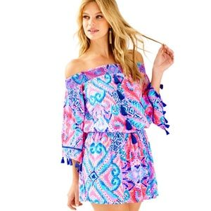 Lilly Pulitzer Joelle Off The Shoulder Dress